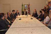 O presidente do TJMA elogiou a agilidade na aprovação e sanção dos projetos (Foto: Ribamar Pinheiro)