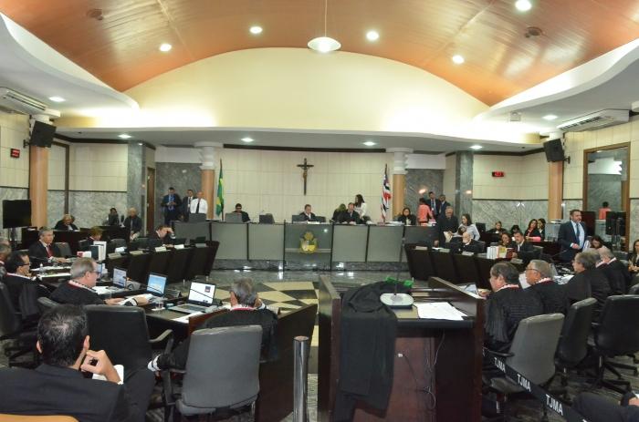Resultado de imagem para A indicação foi na sessão plenária administrativa (Foto: Ribamar Pinheiro)