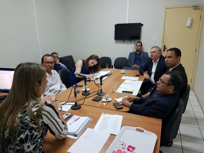 Na reunião, foram discutidas ações para melhorar o sistema prisional da Comarca de Pinheiro.