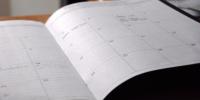 O calendário foi organizado segundo as sugestões do público atendido pela escola