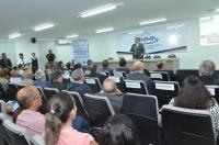 O governador do Estado, Flavio Dino, falou aos participantes sobre o panorama das políticas públicas de saúde no Maranhão (Foto: Ribamar Pinheiro)