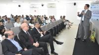 O secretário de Estado da Saúde, Carlos Eduardo de Oliveira, falou sobre os impactos da judicialização no orçamento (Foto: Ribamar Pinheiro)