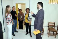 Juiz Cristiano Simas apresenta estrutura da Unidade de Ressocialização de Presos (UPR) de Chapadinha.