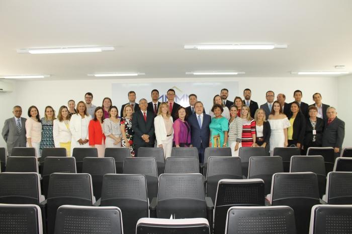 A turma é composta por 26 juízes das entrâncias inicial intermediária e final, além de quatro analistas e assessores judiciários (Foto: Marcelo Cardoso)