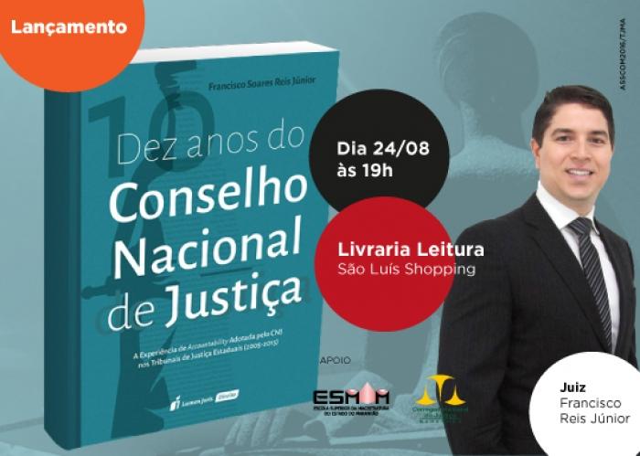 Francisco Soares Reis Júnior é juiz titular da 2ª Vara Criminal da comarca de Timon