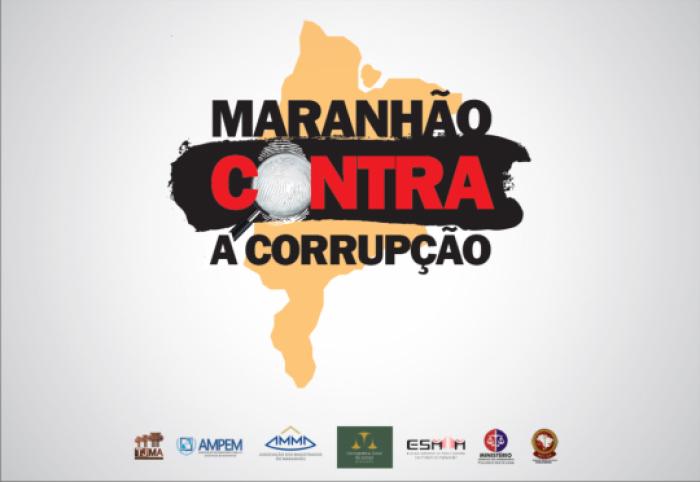 Marca: Maranhão Contra a Corrupção.