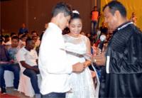 Juiz Francisco Lima une casal mais novo em Peritoró.