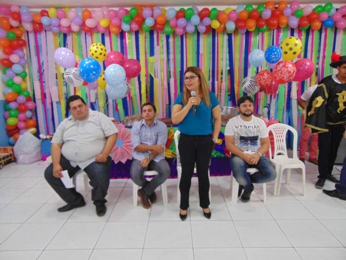 Em Pedreiras, a juíza Ana Gabriela participou das atividades realizadas pela APAC.