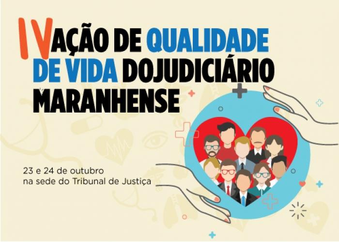 A ação ocorrerá das 9h às 17h, na Divisão Médica do TJMA e no auditório do Centro Administrativo do Poder Judiciário (Arte:Asscom/Tiago Erre)