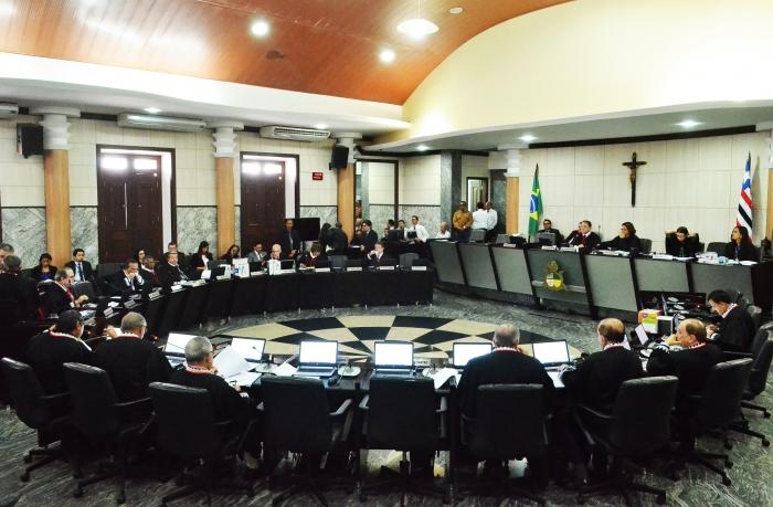 O projeto foi aprovado em sessão plenária do Tribunal de Justiça do Maranhão (Foto: Ribamar Pinheiro|)