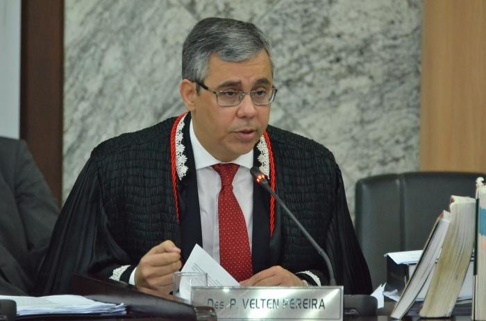 O  desembargador Paulo Velten foi o relator do processo (Foto: Ribamar Pinheiro)