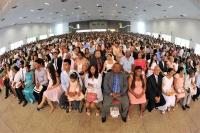 Cerimônia de Casamento Comunitário de São Luís - edição 2017, no Centro de Convenções da UFMA. (Foto: Ribamar Pinheiro/TJMA).