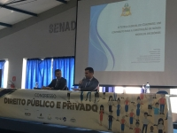 Desembargador Paulo Velten e o juiz Fábio Godinho (TJMA)