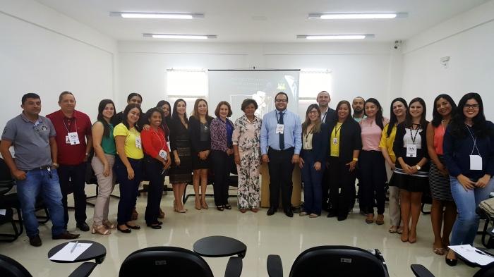 Corregedora Anildes Cruz participa do encerramento das atividades da CSI em Paço do Lumiar.