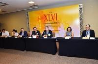 O presidente do Copedem, desembargador aposentado do TJSP, Antonio Rulli, enalteceu a qualidade da organização do evento no Maranhão (Foto: Ribamar Pinheiro)