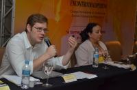 O secretário-geral da Enfam, Carl Olav Smith, expõe sobre procedimentos para oferta de cursos de formação de mediadores judiciais (Foto: Ribamar Pnheiro)
