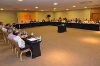 O 46º encontro do Copedem reuniu cerca de 40 representantes de escolas judiciais e da magistratura (Foto: Ribamar Pinheiro)