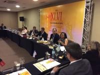 Desembargadora Daldice Maria Santana expõe sobre o papel do CNJ na formação de mediadores e conciliadores