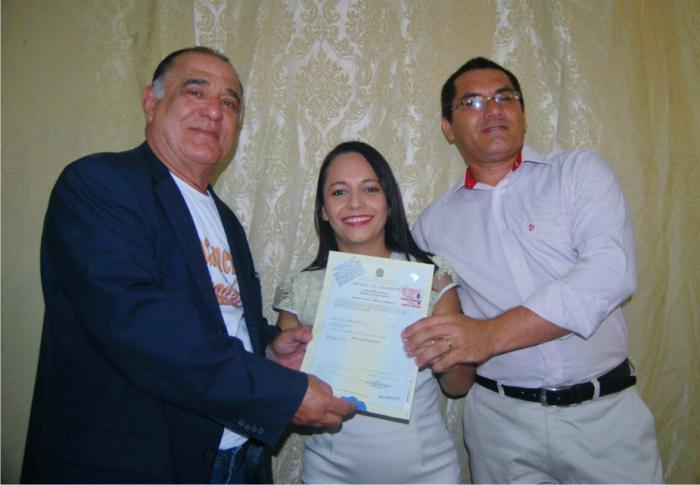 Desembargador Jorge Rachid foi homenageado durante casamento de Bom Jardim.