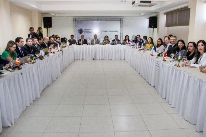 O juiz Nilo Ribeiro Filho considerou a reunião extremamente positiva (Foto: TJSE)