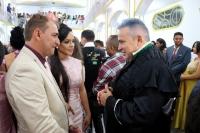 Juiz Cristóvão Barros celebra união de casal durante casamento em Pedreiras.