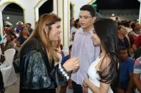 Juíza Ana Gabriela celebra união de casal durante casamento em Pedreiras.