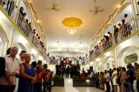 Salão principal onde ocorreu a cerimônia.