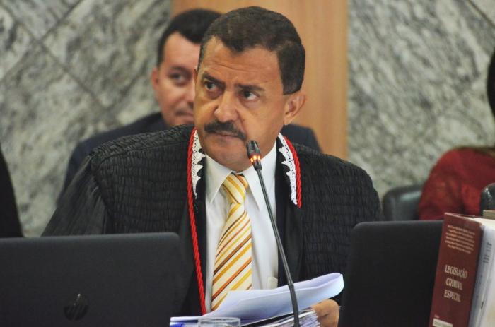 O presidente eleito do TJMA, desembargador José Joaquim Figueiredo dos Anjos, disse que fará uma gestão transparente (Foto: Ribamar Pinheiro)