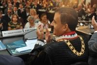 O presidente do TJMA disse que trabalhará em sintonia com os outros dois membros da Mesa Diretora (Foto: Ribamar Pinheiro)