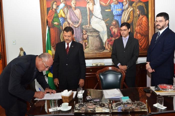 Juiz Raimundo Bogea será auxiliar da CGJ-MA no biênio 2018/2019. (Foto: Ribamar Pinheiro/TJMA).