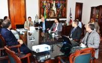 A apresentação do projeto foi feita no Gabinete da Presidência do TJMA (Foto: Ribamar Pinheiro)