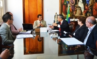 O plano foi apresentado no Gabinete da Presidência do TJMA (Foto: Ribamar Pinheiro)