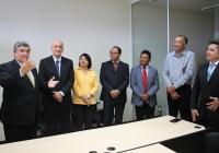 Juiz Marco Antonio agradece a confiança do corregedor e a parceria dos colegas de trabalho.