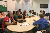 Juíza Andrea Perlmutter Lago, titular do 1º Juizado Criminal de São Luís, reuniu com representantes de 16 entidades filantrópicas.
