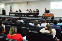 Juízes e servidores participam do treinamento sobre o programa BNMP 2.0, com equipe do CNJ. Foto: Ribamar Pinheiro/ TJMA