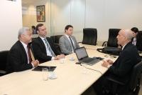 Corregedor reuniu-se com membros da Procuradoria nesta quinta-feira, 8