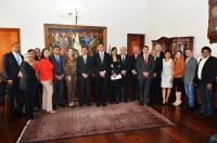 Presidente José Joaquim Figueiredo comprometeu-se a avaliar os pleitos da OAB/MA (Foto: Ribamar Pinheiro)