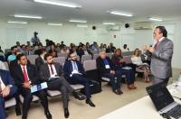No curso, o desembargador José Luiz de Almeida aborda sobre questões controvertidas do Direito Penal e Processual Penal (Foto: Ribamar Pinheiro)