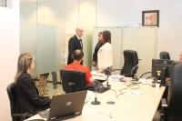 Corregedor visitou salas de audiência