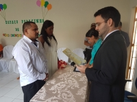 Juiz realiza casamento em unidade prisional em Codó