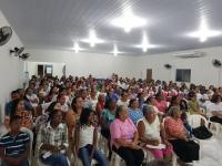 Comunidade participou de palestra na comarca de Pedreiras