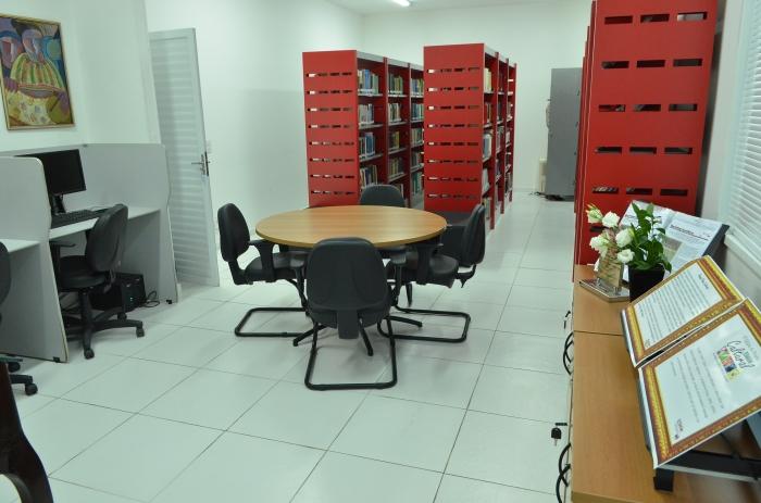 Biblioteca Desembargadora Madalena Serejo - ESMAM