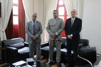 Juiz Edmilson da Costa Lima tomou posse nesta segunda, 12 (Foto: Josy Lord)