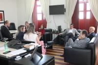 Corregedor reuniu-se com Sinduscom e SEMFAZ (Fotos: Josy Lord)