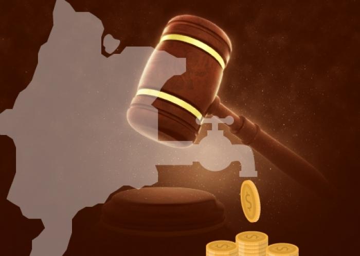 Ex-prefeito de Serrano do Maranhão teve condenação mantida em julgamento na 5ª Câmara Cível. Arte: Carlos Sales/ Asscom TJMA