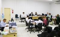 Juízes, promotores e defensores atuam no Mutirão Carcerário em Pinheiro de 19 a 23 de março. (Imagem: Asscom CGJMA).