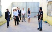Integrantes do GAPP visitam o Presídio Regional de Pinheiro.