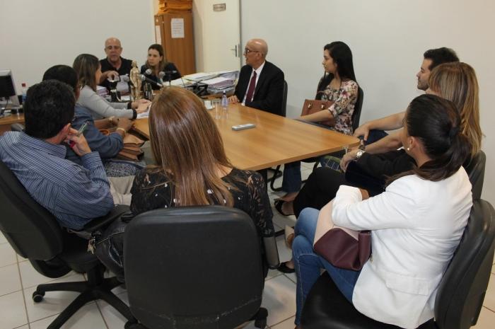 Corregedor-geral reuniu-se com advogados da região nesta segunda-feira, 27