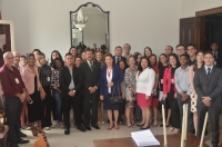 A homenagem aconteceu no Salão Nobre do Tribunal de Justiça. (Foto: Ribamar Pinheiro)