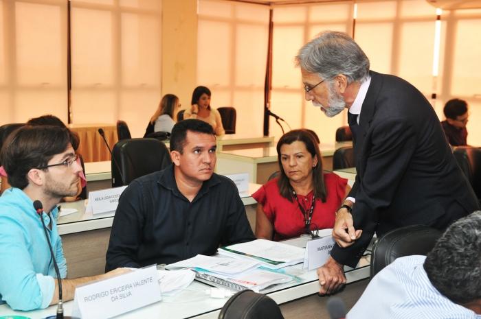 A capacitação está sendo realizada no Salão Nobre da Fiema (Foto: Ribamar Pinheiro)